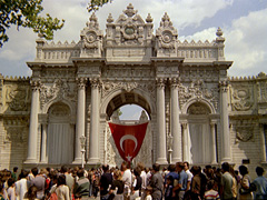 Dolmabahce Palace and Ataturk
