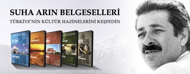 """Türk belgesel sinemasının büyük ustası Suha Arın'ın 40 yıllık meslek yaşamı boyunca ürettiği eserleri, dijital ortama taşınarak """"Bir Suha Arın Belgeseli"""" koleksiyonu halinde yeni nesiller ile buluşturuluyor."""